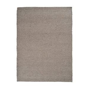 Dywan wełniany Linie Design Asko Grey, 80x250 cm