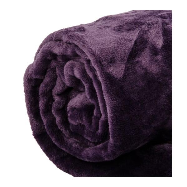 Pled Toison Purple, 125x150 cm