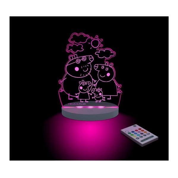 Dziecięca lampka nocna LED Peppa Pig Familia