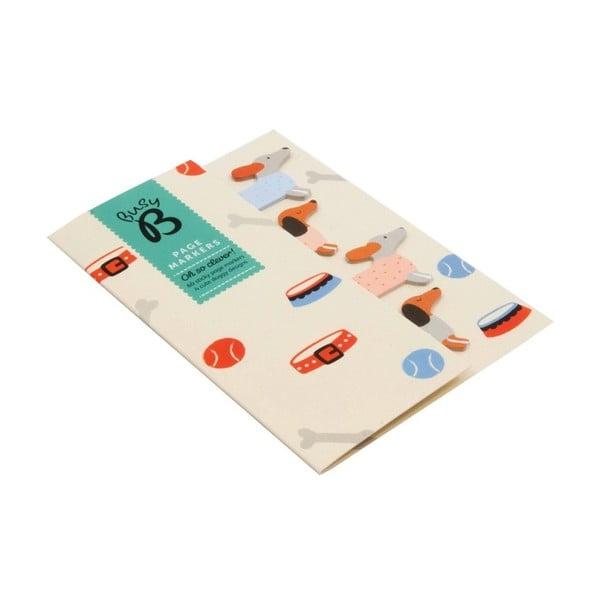 Karteczki   samoprzylepne Busy B Page Markers Doggy