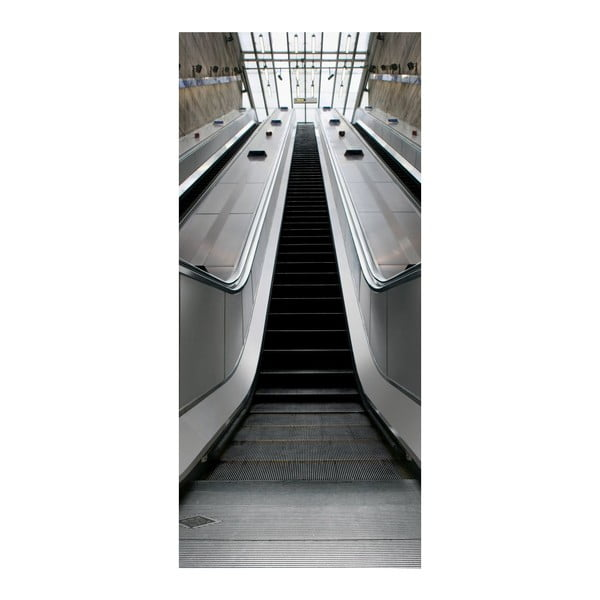 Tapeta na drzwi Escalator, 95x210 cm