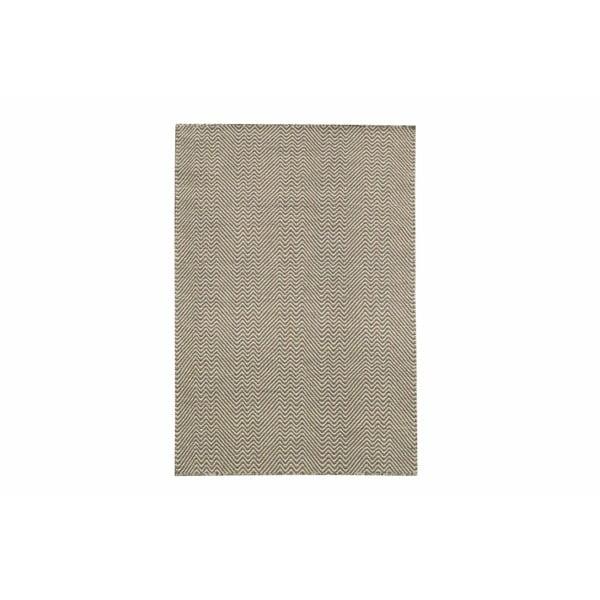 Ręcznie tkany kilim Grey Zigzag Kilim, 70x115 cm