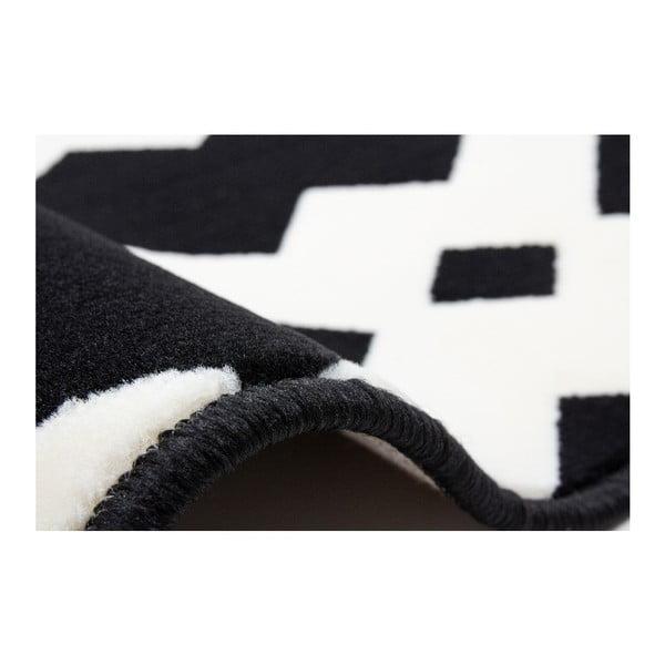 Dywan Stella 100 Black White, 160x230 cm