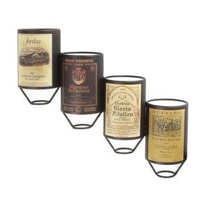 Naścienny stojak na wino, 20x11x52,5 cm