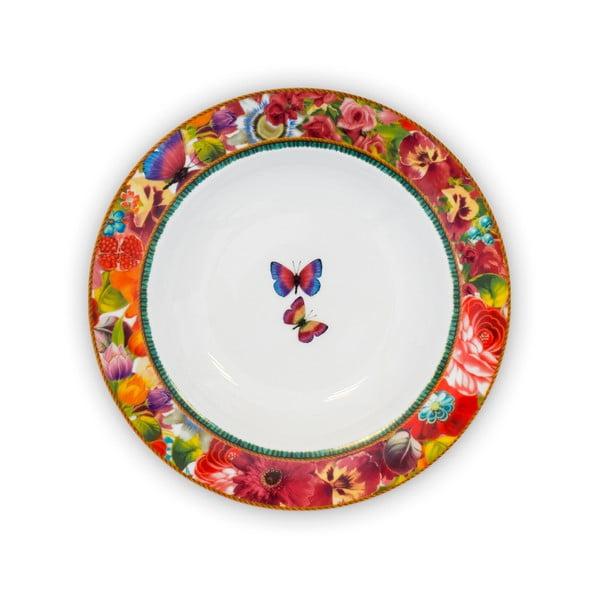 Głęboki talerz porcelanowy Melli Mello Eliza, 21.5 cm