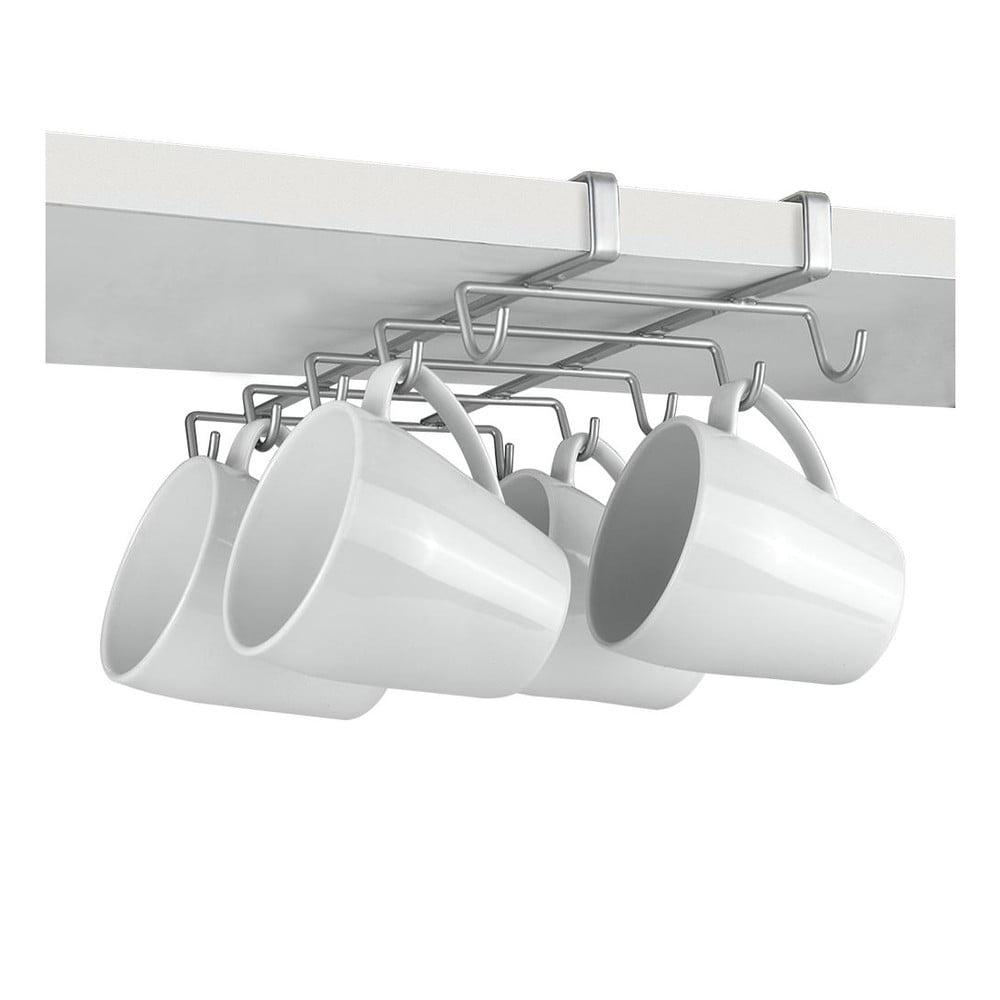 Podwieszany wieszak pod szafkę z haczykami na kubki Metaltex Mugs | Bonami