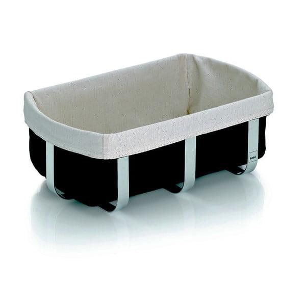 Metalowy koszyk na chleb Moreno, 27x16x10 cm