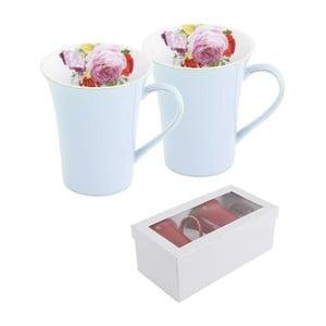 Komplet 2 filiżanek w pudełku podarunkowym Pink Rose