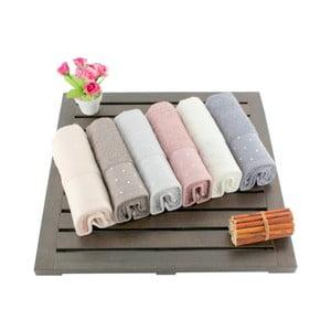 Zestaw 6 ręczników Patricik, 30x50 cm