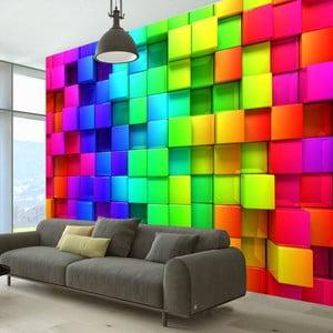 Tapeta wielkoformatowa Artgeist Cubes, 400x280 cm