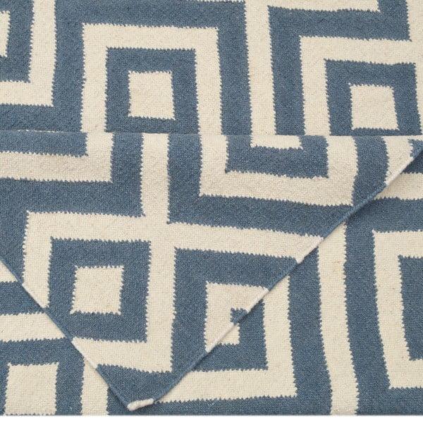 Dywan wełniany Luisa Grey, 180x120 cm