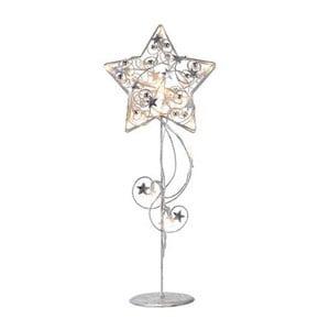 Świecąca dekoracja stojąca LED Markslöjd Hagaberg Silver