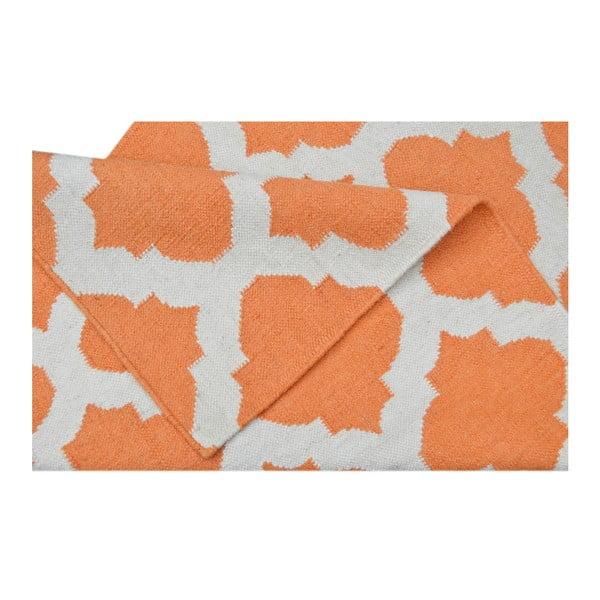 Ręcznie tkany dywan Kilim JP 11154 Orange, 90x150 cm
