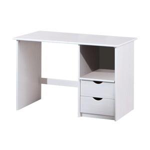 Białe biurko drewniane 13Casa Work