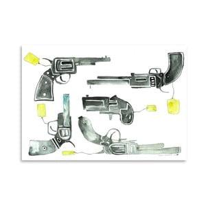 Plakat Pistols, 30x42 cm