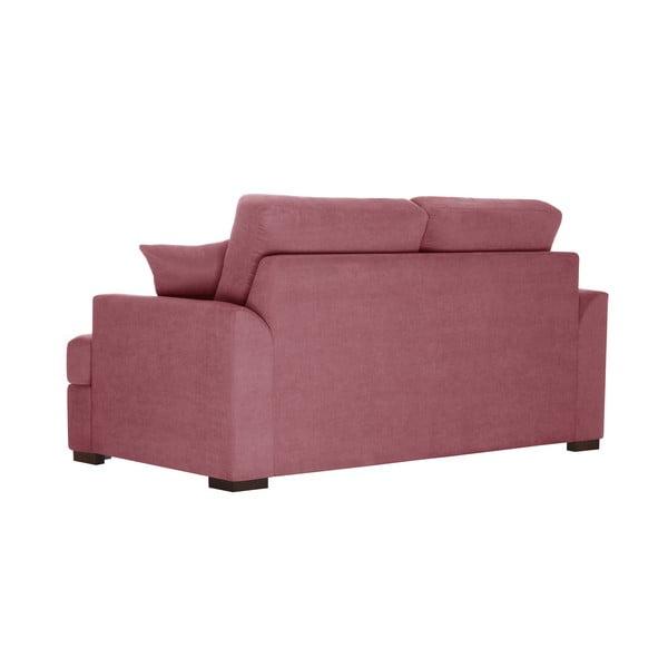 Sofa dwuosobowa Jalouse Maison Irina, różowa