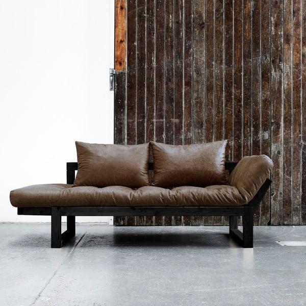 Sofa Karup Vintage Edge Black/Mocca