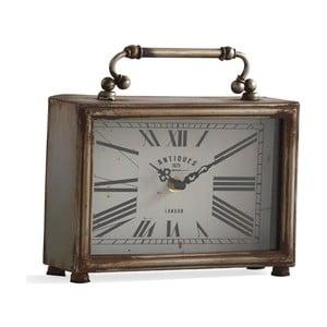 Zegar stołowy w kolorze srebra Geese Old