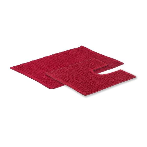 Komplet 2 dywaników łazienkowych Raspberry Popcorn
