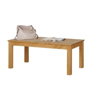 Naturalny stolik z drewna sosnowego Støraa Tommy