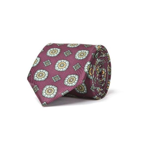 Zestaw krawata i poszetki Ferruccio Laconi 4