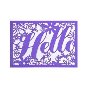 Zestaw   10 kart okolicznościowych Portico Designs FOIL Floral Hello