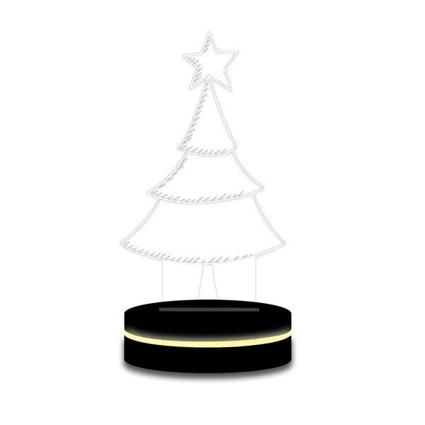 Lampa z efektem 3D Christmas no. 12