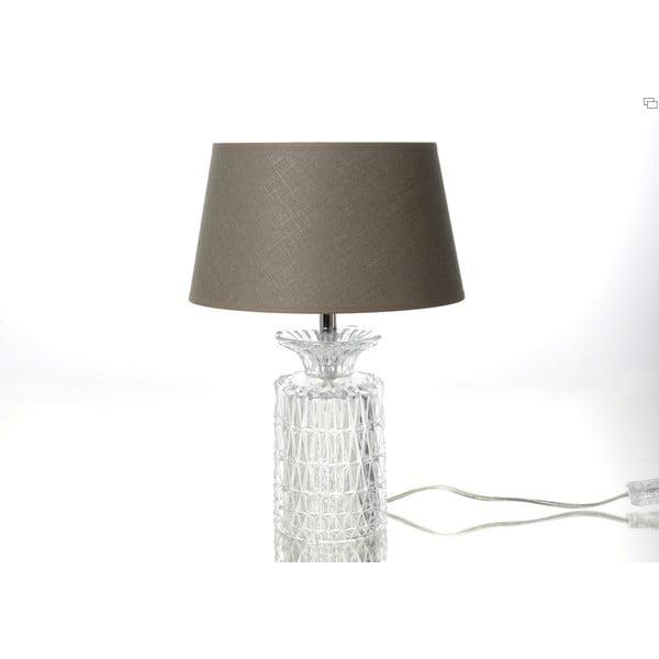 Lampa stołowa Glass Taupe