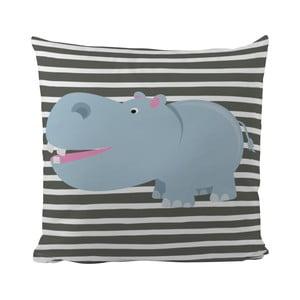 Poduszka   Hippo in Grey, 50x50 cm