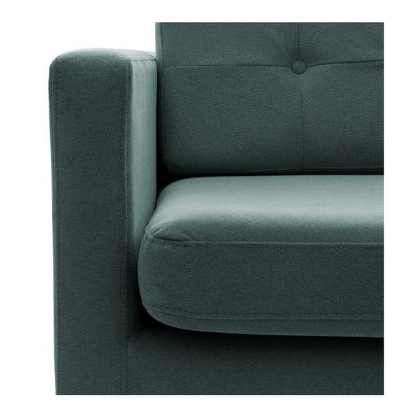 Fotel VIVONITA Jonan Light Blue, czarne nogi