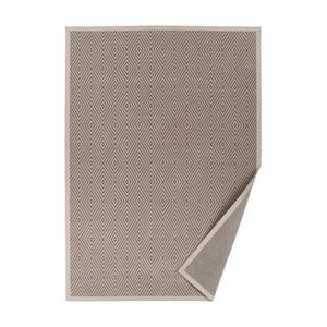 Beżowy dywan dwustronny Narma Kalana, 70x140 cm