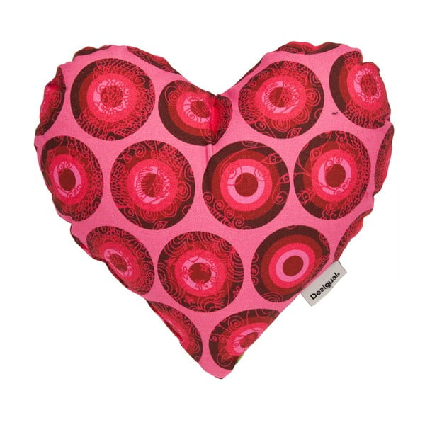 Poduszka DESIGUAL Heart Azalea