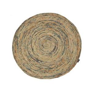 Dywan jutowy tkany ręcznie Bakero Roberta Ground, ø 120 cm