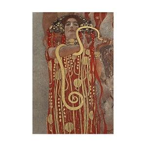 Reprodukcja obrazu Gustava Klimta - Hygieia, 70x45 cm
