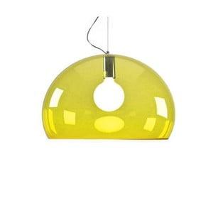 Żółta lampa wisząca Kartell Fly