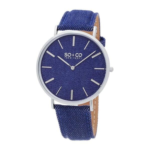 Zegarek męski SoHo Club Silver/Blue