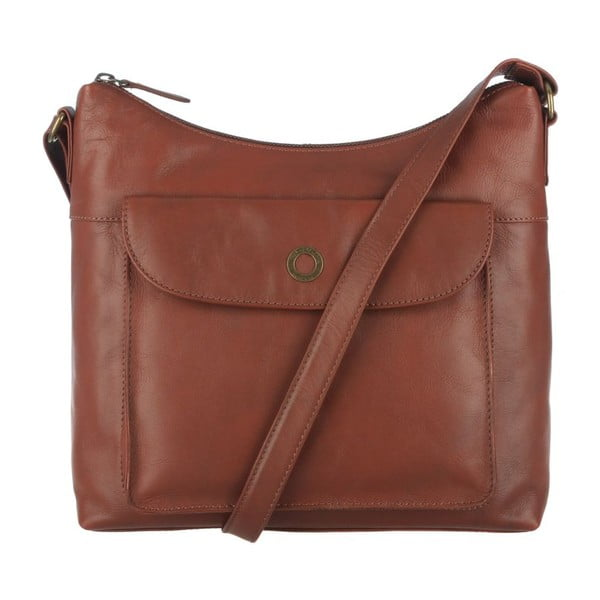 Skórzana torba Angel Cognac Cross-Body