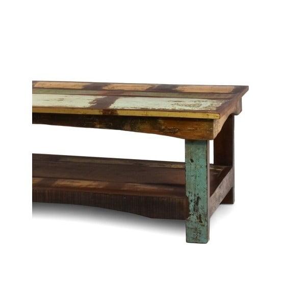 Stolik z teczyny Goa, 120x60 cm