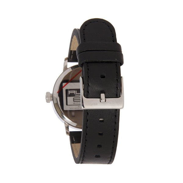 Damski zegarek Alphabet Lady Leather Black
