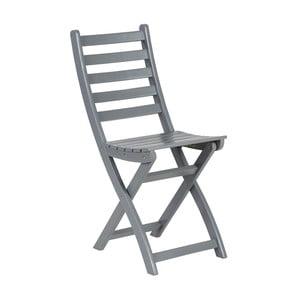 Szare krzesło składane Butlers Lodge