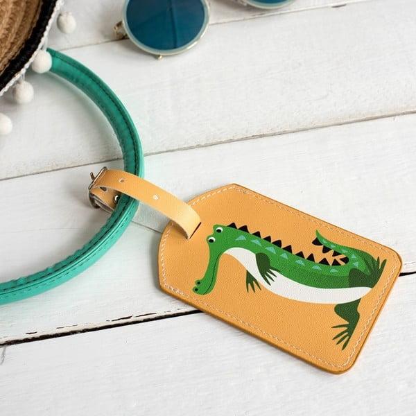 Etykieta imienna Rex London Ben The Crocodile