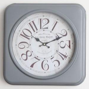 Metalowy zegar Moulin, 35 cm