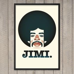 "Plakat ""Jimi"", 29,7x42 cm"