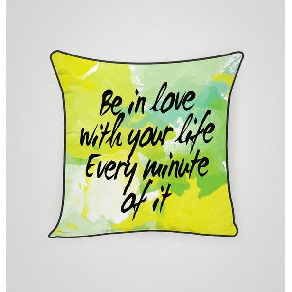 Poszewka na poduszkę In Love With Life, 45x45 cm