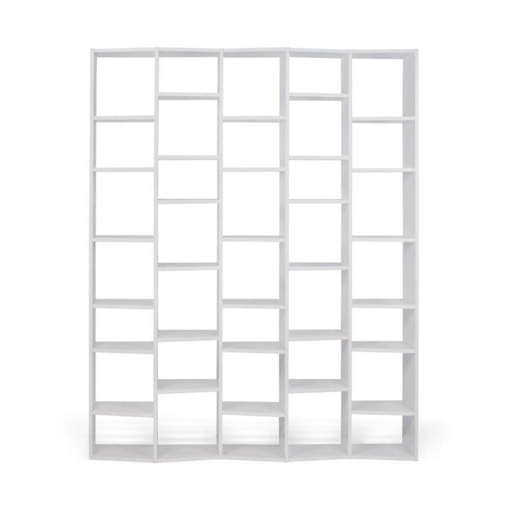 Biały regał TemaHome Valsa, szer. 182 cm