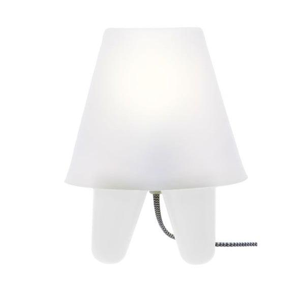 Lampa stołowa Dab White