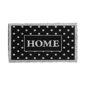Srebrno-czarna wycieraczka Hamat Home Dots, 40x70 cm