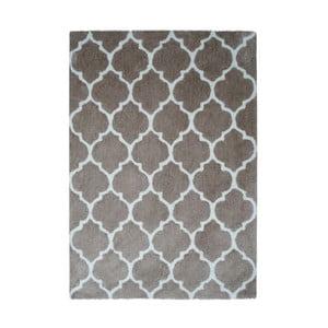 Szaro-brązowy dywan Smooth, 80x150cm