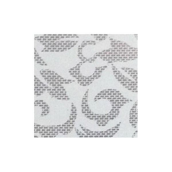 Lustro ścienne Floral, srebrna rama