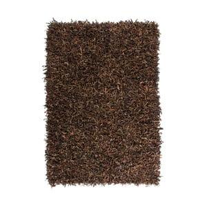 Skórzany dywan Rodeo 160x230 cm, brązowy